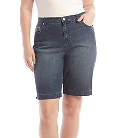 Gloria Vanderbilt® Plus Size Amanda Bermuda Shorts