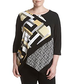 Alfred Dunner® Plus Size City Life Knit Top
