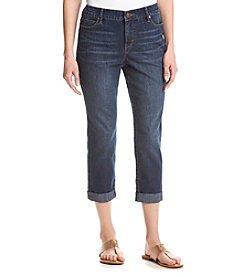 Gloria Vanderbilt® Petites' Stefania Slim Ankle Rollup Jeans
