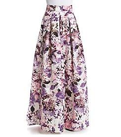 Eliza J® Floral Ballgown Skirt
