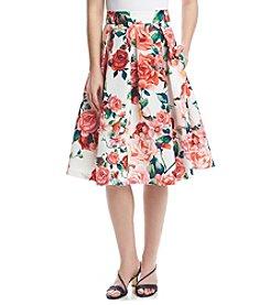 Eliza J® Floral Skirt