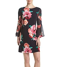 Jessica Howard® Floral Bell Sleeve Dress