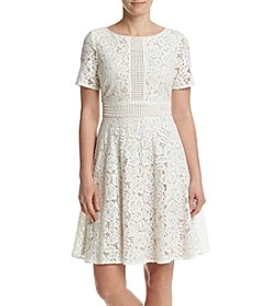 Jessica Howard® Lace Fit And Flare Dress