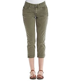 Ruff Hewn Narrow Cuffed Crop Jeans