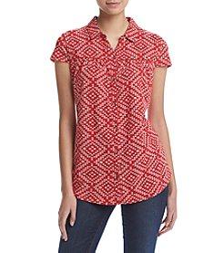 Ruff Hewn Printed Western Shirt