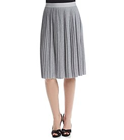 Ruff Hewn GREY Knit Pleated Skirt