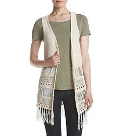 Ruff Hewn Crochet Flyaway Vest