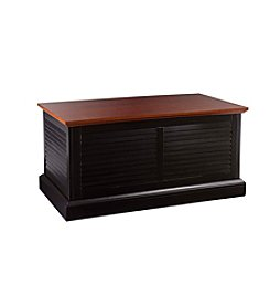 Southern Enterprises Abram Louvered Trunk Cocktail Table