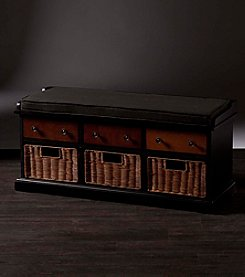 Southern Enterprises Larimore Storage Bench