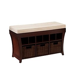Southern Enterprises Lowry Storage Bench