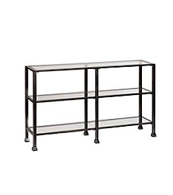 Southern Enterprises 3-Tier Console Table
