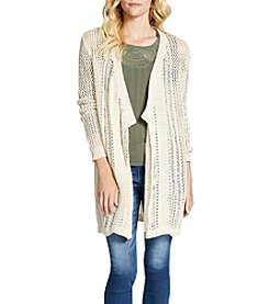 Jessica Simpson Draped Open Cardigan