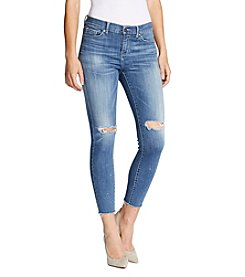 William Rast® Destructed Skinny Ankle Jeans