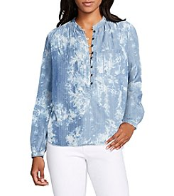 William Rast® High-Low Popover Top
