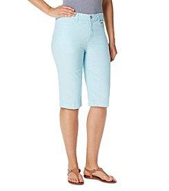 Bandolino® Ivette Pin Stripe Bermuda Shorts