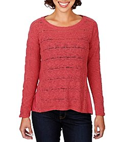 Lucky Brand® Mixed Pattern Sweater
