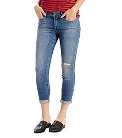 Levi's Midrise Skinny Crop Jeans