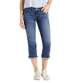 Levi's® Cuffed Mid Rise Capri Pants