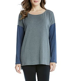Karen Kane® High Low Colorblock Top