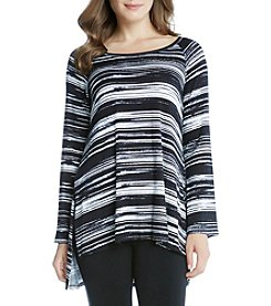 Karen Kane® High Low Raglan Top