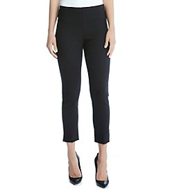 Karen Kane® Knit Jacquard Crop Pants
