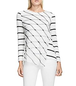 Vince Camuto® Stripe Duet Top