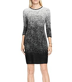 Vince Camuto® Ombre Jacquard Sweater Dress
