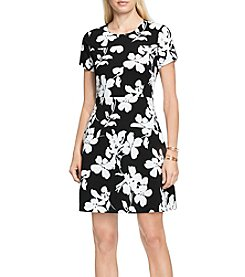 Vince Camuto® Fresco Blooms Flare Dress