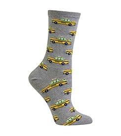 Hot Sox® Taxi Cab Socks