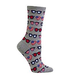 Hot Sox® Patriotic Sunglasses Sock