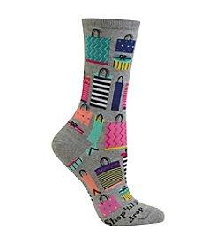 Hot Sox® Shop 'Til You Drop Socks
