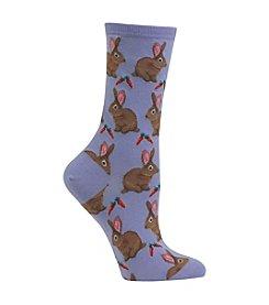 Hot Sox® Bunnies Socks