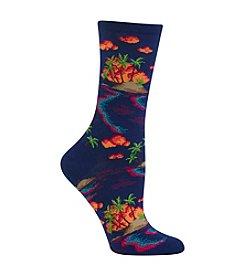 Hot Sox® Island Scenic Sock