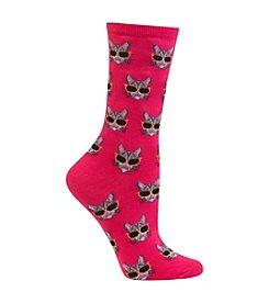 Hot Sox® Cool Cat Socks