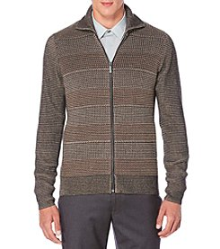 Perry Ellis® Men's Full Zip Sweater