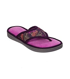 Dearfoams Active Mesh Thong Slipper