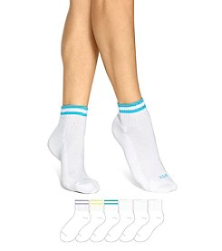 HUE® 6-pack Mini Crew Socks