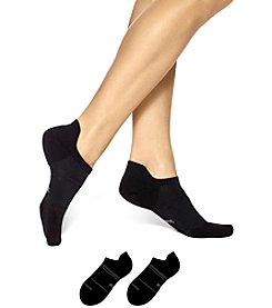 HUE® 3-Pack Air Sleek Tab Back Liner With Cushion Socks