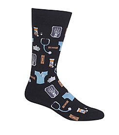 Hot Sox® Men's Medical Crew Socks