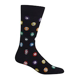 Hot Sox® Men's Billard Balls Crewsocks