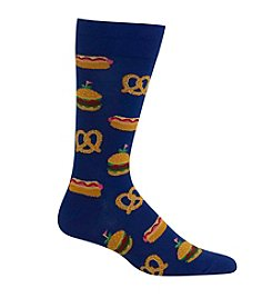 Hot Sox® Men's Street Food Crew Socks