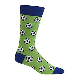 Hot Sox® Men's Soccer Balls Crew Socks