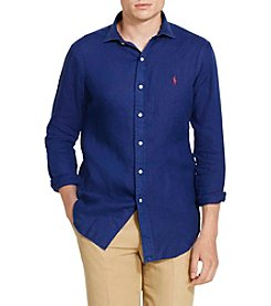 Polo Ralph Lauren® Men's Linen-Spread Collar  Sport Shirt