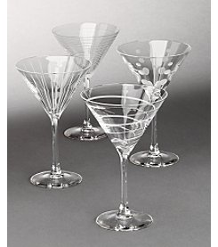 Mikasa® Cheers Barware Set of 4 Martini Glasses