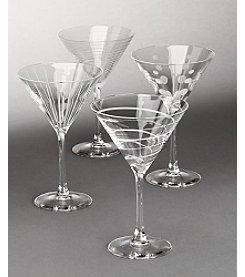 Mikasa® Cheers Barware Set of 4 Martini Glasses