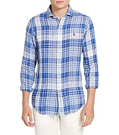 Polo Ralph Lauren® Men's Linen Spread Long Sleeve Shirt