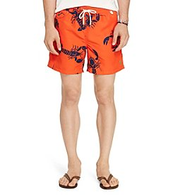 Polo Ralph Lauren® Men's Lobster Print Swim Trunks