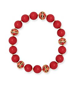 Anne Klein® Beaded Stretch Bracelet