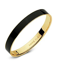 Anne Klein® Enamel Bangle Bracelet