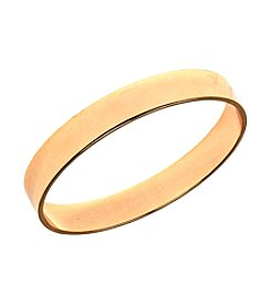 Anne Klein® Metal Band Bangle Bracelet